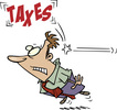 Tax Guy hit in head