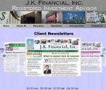 Newsletter Webpage Snaphot