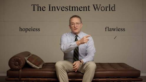 1-2016 Howard Marks Investment world emotion - On the Couch