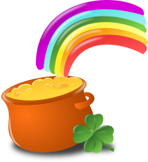 Pot of gold luck-152048_1280