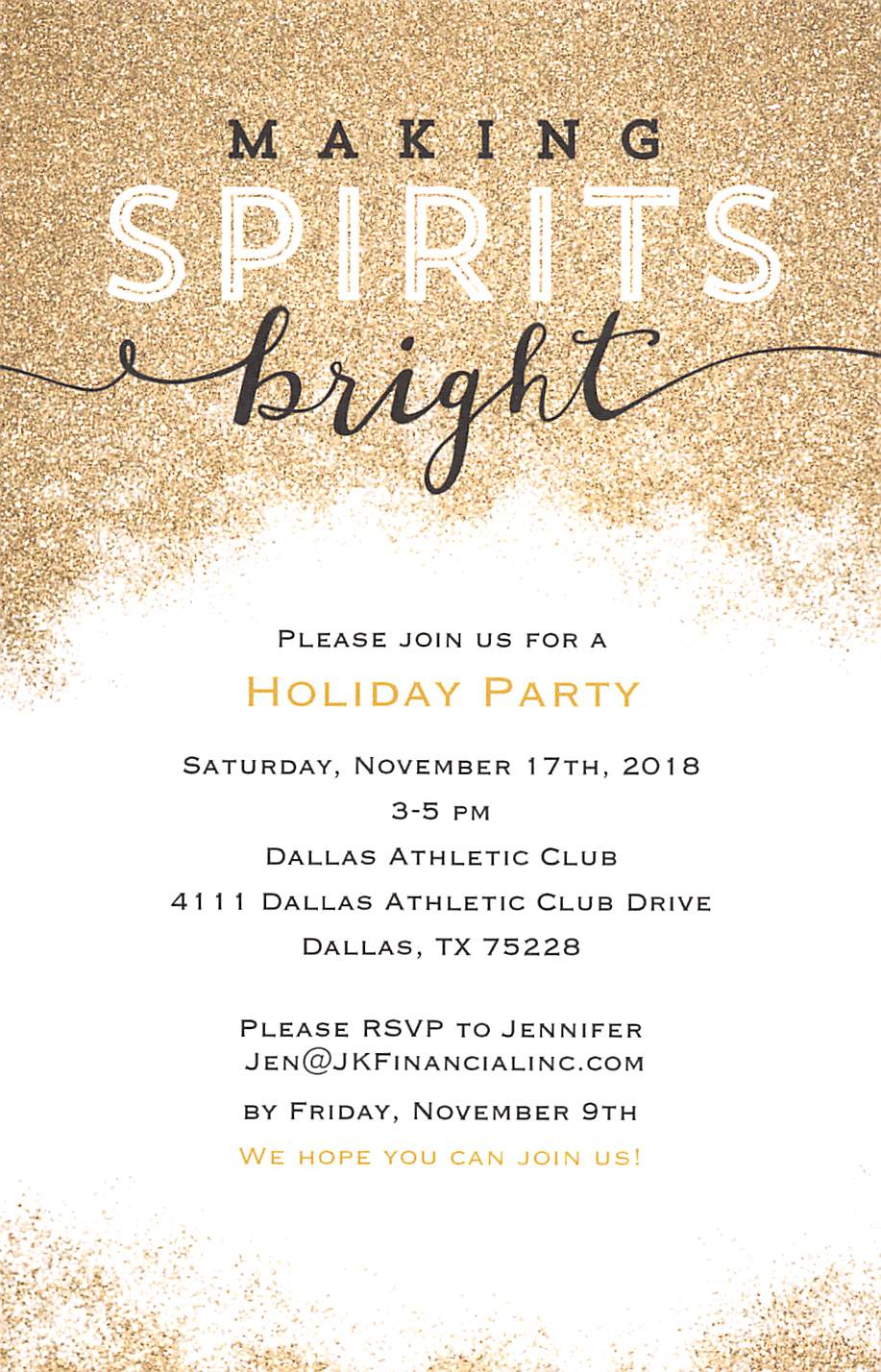 10-9-18 - Holiday Party Invitation