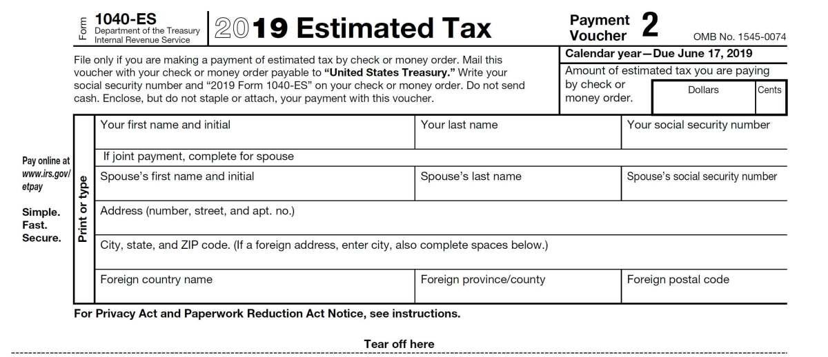 Quarterly Estimated Tax Reminder Payment Due Next Monday