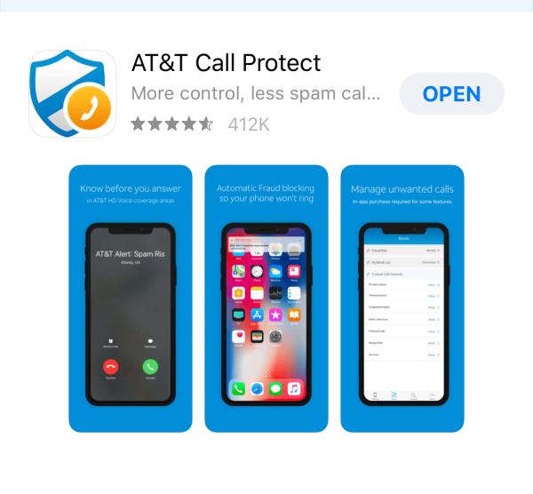 At&T Spam Blocker App