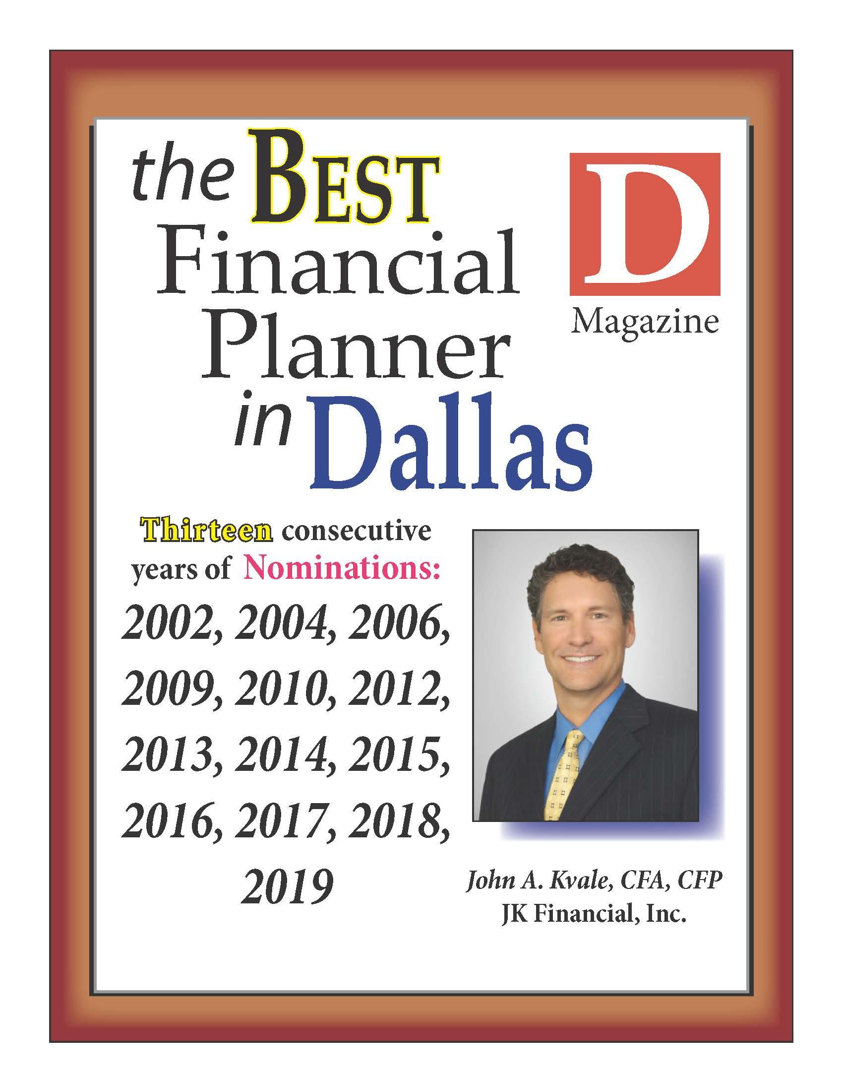 Best_Financial_Planner 2019